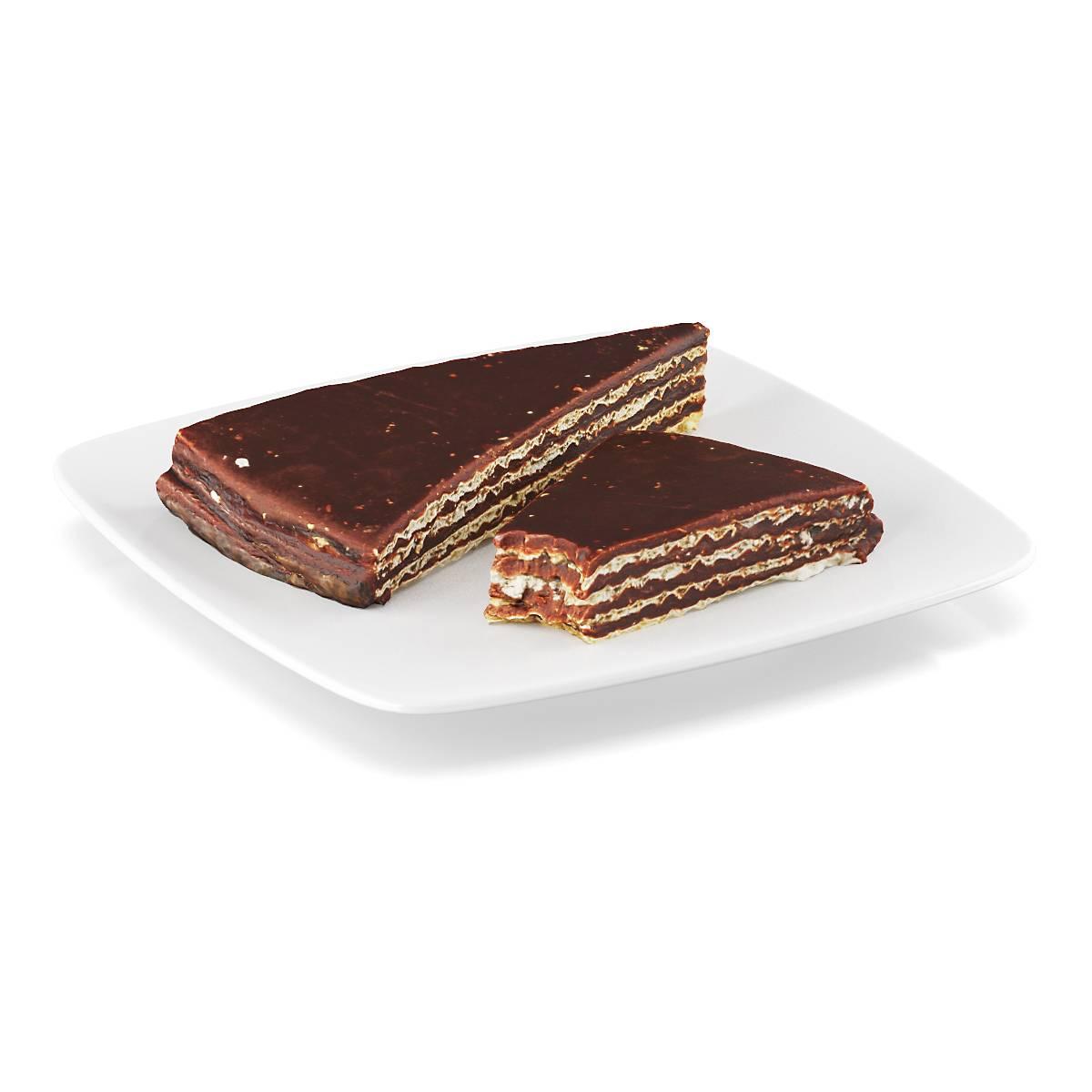 云酷网C4D模型-食物 巧克力蛋糕