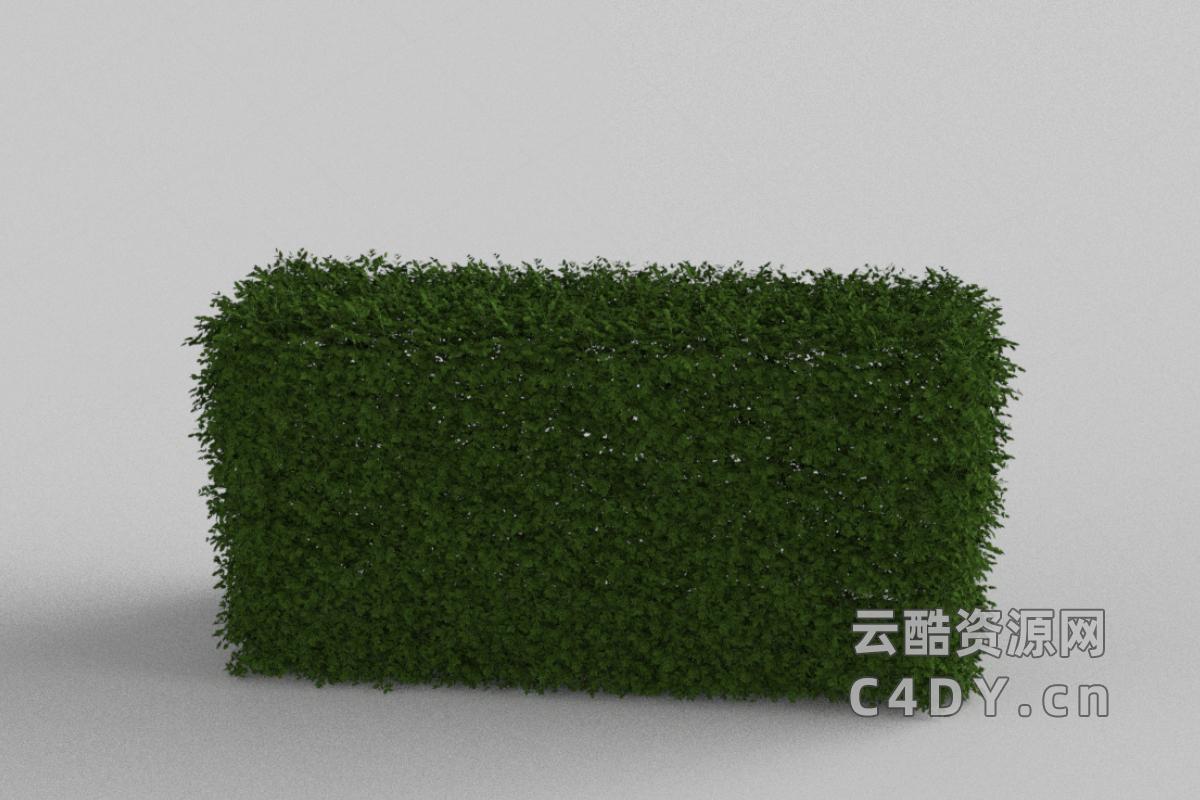 草堆-室外草堆,C4D模型-云酷网c4d