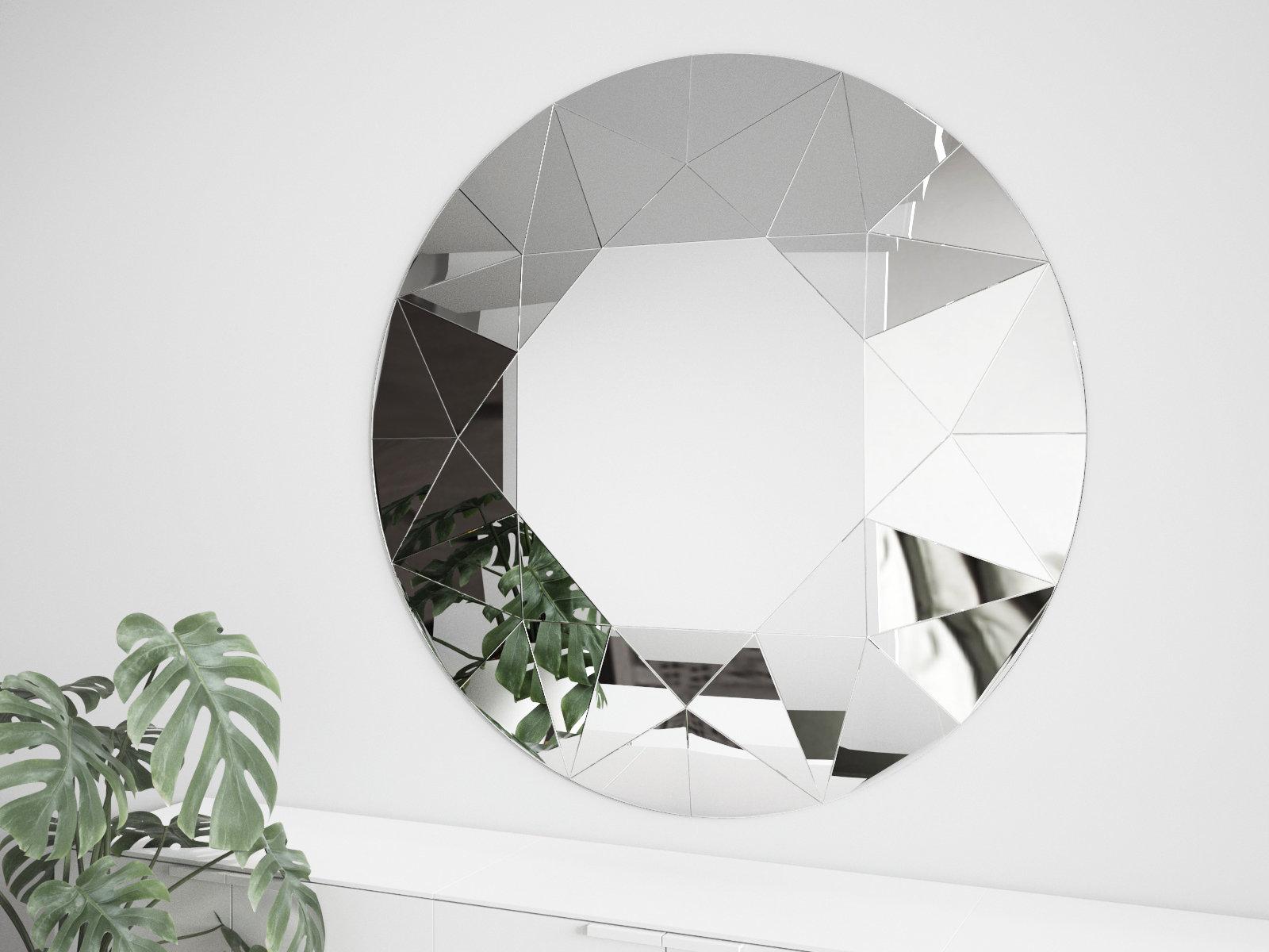 梦镜3D壁镜-室内壁镜,C4D模型-云酷网c4d