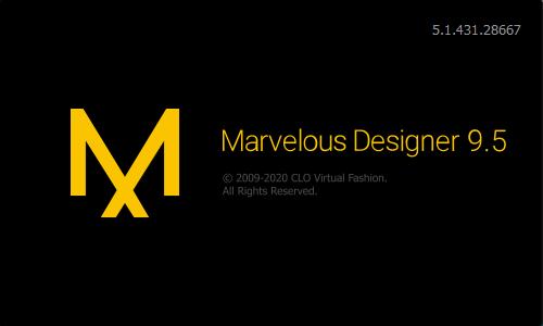 Marvelous Designer 9 Enterprisev5.1.431.28667中文破解版+安装教程