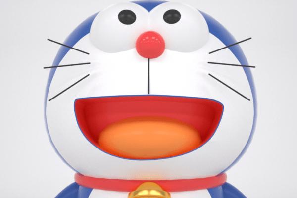 可爱哆啦A梦海报工程_卡通哆啦A梦素材-云酷网c4d